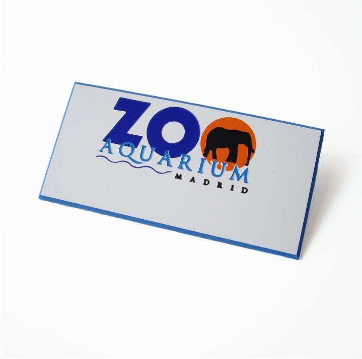 Placa de identificación