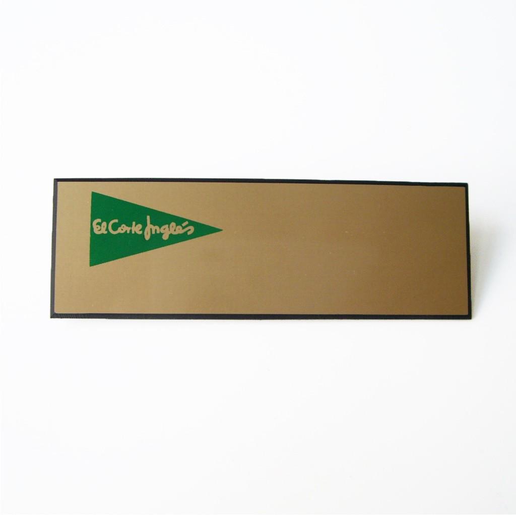 Placa de identificación personal
