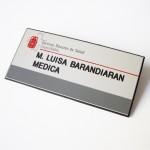 Badge grabado