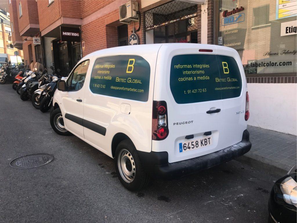 vehículos rotulados