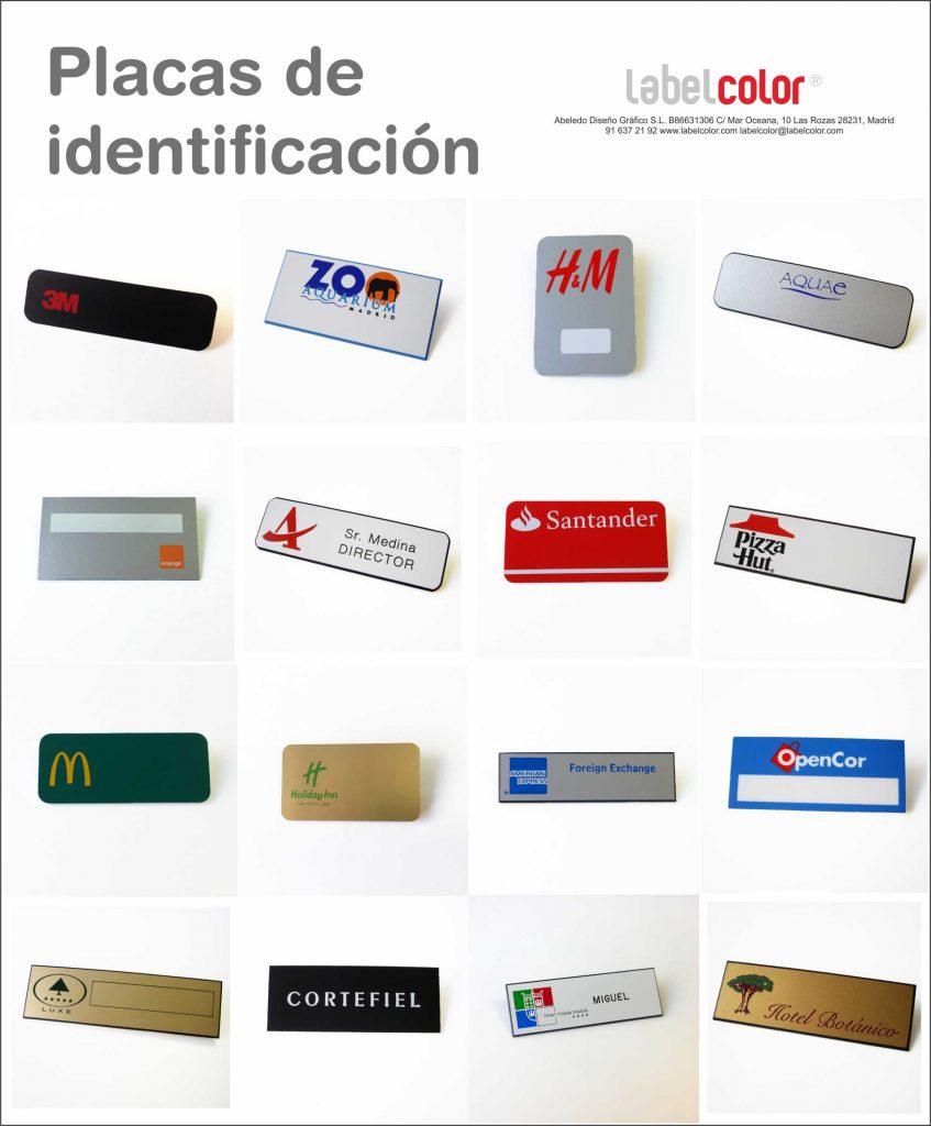 Catálogo de identificadores