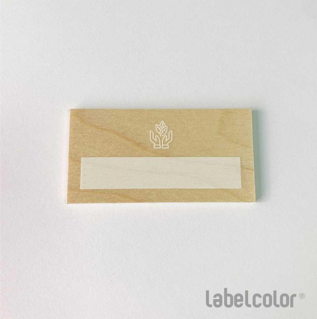 identificador de madera